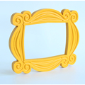 TV Series Friends Handmade Monica Door Frame Wood Yellow Mon  Photo Frames Collectible Home Decor Collection Gift preview-6