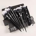 10Pcs Makeup Brushes Set Cosmetic Foundation Powder Blush Eye Shadow Blending Concealer Beauty Kit Make Up Brush Tool Maquiagem preview-2