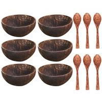 6 spoon 6 bowl