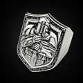 Vintage Templar Knight Rings for Men Domineering Hip Hop Style Christianity Crusaders Religious Ring Jewelry Accessories preview-1