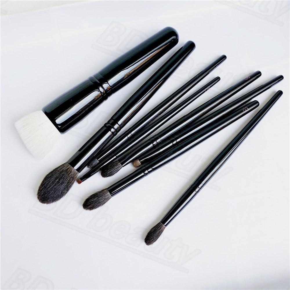 WG MAKEUP BRUSHES Foundation Powder Eye Shadow Crease Blending Precision Detail Soft Cosmetics Brush 01/02/03/04/05/06/07/08