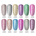 ROSALIND Gel Nail Polish Glitter Paint Hybrid Varnishes Shiny Top Base Coat For Nails Set Semi Permanent For Manicure Nail Art preview-3