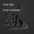 5 Size Cold-proof Unisex Waterproof Winter Gloves Cycling Fluff Warm Gloves For Touchscreen Cold Weather Windproof Anti Slip preview-3