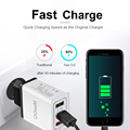 QGEEM 3 USB Charger Quick Charge 3.0 Fast USB Wall Charger Portable Mobile Charger QC 3.0 Adapter for Xiaomi iPhone X EU US Plug preview-3