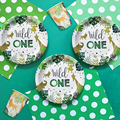 New! Wild One Birthday Party Balloons Jungle Safari Party Forest Decoration Kids First 1st Birthday Safari Jungle Party Supplies preview-3