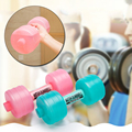 2pcs Body Building Water Dumbbell Weight Dumbbell Fitness Gym Equipment Crossfit Yoga For Training Sport Plastic Bottle Exercise preview-1