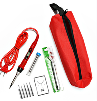 80W red with bag