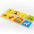 108pcs Kids Baby Learning Education Cognitive Cards Fruit Animal Visual Excitation Montissori Toys English Chinese Flashcards preview-3