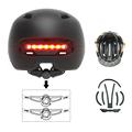 Smart4u City Urban Helmet Sport Adult Cycling Smart Signal Light CPSC/RoHS/EN1078/GB Certification Brake Sensor Lamp Weight 370g preview-3