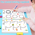 Magical Tracing Workbook Reusable Calligraphy Copybook Practice Drawing Book Toddler Learning EDUC BOOK For KID CHILD TOY preview-1