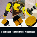 Detailing Brush Set Car Cleaning Brushes Power Scrubber Drill Brush For Car Leather Air Vents Rim Cleaning Dirt Dust Clean Tools preview-5