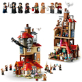 2021 New Harris Forbidden Forest Umbridge's Encounter Tower 4 Privet Drive Attack on The Burrow Hedwig Building Blocks Toys preview-3