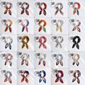 Small Square Silk Scarf Women Fashion Crinkle Crumple Satin Neck Scarves Ladies Pleated Foulard Femme Shawl Bandana Handkerchief preview-4