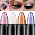 Pearlescent silkworm eyeshadow pen lasting waterproof and not blooming Shiny pearlescent gel pen 16 color eye shadow pen preview-3