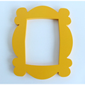 TV Series Friends Handmade Monica Door Frame Wood Yellow Mon  Photo Frames Collectible Home Decor Collection Gift preview-5