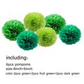 6pcs Green series