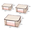 Thickened Non-woven Quilt Storage Bag Clothes Storage Box Travel Portable Storage Box Folding Closet Organizer ForPillow Blanket preview-6