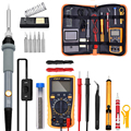 Adjustable Temperature Electric Soldering Iron kit 220V 110V 60W Welding Solder Rework Station Heat Pencil Repair Tools preview-1