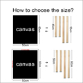 Picture frame wooden upper photo wall frames wide DIY solid wood camphor pine composite picture frame decoration pict preview-2