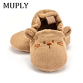 Adorable Infant Slippers Toddler Baby Boy Girl Knit Crib Shoes Cute Cartoon Anti-slip Prewalker Baby Slippers preview-1