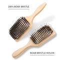 1PC Professional Denman Brush USA Oak Wood Hair Brush Airbag Brush Soft Boar Bristle Brush Hair Straightener Wood Brush For Hair preview-2