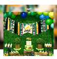 New! Wild One Birthday Party Balloons Jungle Safari Party Forest Decoration Kids First 1st Birthday Safari Jungle Party Supplies preview-5