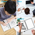 NEWYES A6 size Smart Reusable Erasable Notebook Microwave Wave Cloud Erase Notepad Note Pad Lined With Pen save paper preview-3