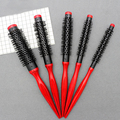 Bristle Wavy Curly Hair Brush Wood Handle Natural Fluffy Roll Brush Red Round Hair Comb Salon Hairdressing Styling Curler Comb preview-5