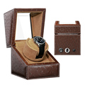 High Class Motor Shaker Watch Winder Holder Display Automatic Mechanical Watch Winding Box Jewelry Watches Box preview-5