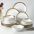 18pc plate bowl