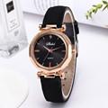 Fashion Women Leather Casual Watch Luxury Analog Quartz Crystal Wristwatch часы женские наручные смарт часы часы женские 2020 preview-2