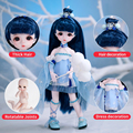 Dream Fairy 1/6 Dolls Court Style 28CM BJD Ball Jointed Doll Full Set Including Clothes Shoes DIY Toy Gift for Girls preview-4