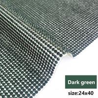 dark green 24x40cm
