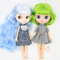 ICY DBS Blyth doll 1/6 bjd toy natural skin shiny face short hair white skin tan skin joint body 30cm girls gift anime girls preview-4