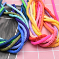 6mm 400pcs/lot DIY Jewelry Findings Polymer Clay Beads Rubber Spacer Beads For Boho Jewelry Making Bracelet Accessory preview-3