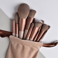 13pcs Professional Makeup Brush Set Soft Fur Beauty Highlighter Powder Foundation Concealer Multifunctional Cosmetic Tool Makeup preview-1
