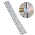 Fux-cored Aluminum Brazing Welding Rods Solder for Aluminum Easy Melt Low Temp Welding Wire Electrodes No Need Solder Powder preview-2