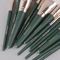 14Pcs Makeup Brushes Set Cosmetic Foundation Powder Blush Eye Shadow Lip Blend Wooden Make Up Brush Tool Kit Maquiagem preview-4