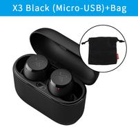 Black (USB) with Bag