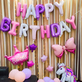 Happy Birthday Balloons Set for Kids Girl Boy Wife Women Balloon Home Decorations Party Supplies Baby Shower preview-2