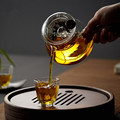 High Quality Borosilicate Glass Teapot Green Tea Heat Resistant Tea Kettle Creative Coffee Pot Sets With Infuser Strainer preview-1