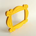 zk30 TV Series Friends Handmade Monica Door Frame Wood Yellow Photo Frames Collectible for Home Decor preview-5