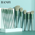 13PCs Makeup Brushes Set Soft Concealer Eyeshadow Foundation Blush Lip Eyebrow Brushes Set For Face Make-up Cosmetic Tools Kit preview-2