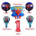 Superhero Spiderman Birthday Party Supplies Tablecloth Balloons Favors Kids SpiderMan Theme Birthday Party Decorations Boy Set preview-6