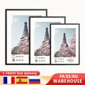 Modern Wall Picture Frames Metal Photo Black Golden White Mat Plexiglass 50x70 40x50 30x40 A4 cm Poster Canvas Print Home Decor preview-1