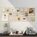 18Pcs/Set Wood Picture Frames For Wall Hanging, Photo Frame Wall With Pictures Classic Wooden Frame For Home Decoration preview-5