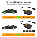 Deelife Android TPMS for Car Radio DVD Player Tire Pressure Monitoring System Spare Tyre Internal External Sensor USB TMPS preview-4