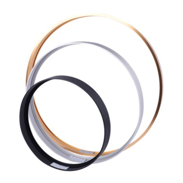 MEIAN Round Aluminum Frame For Canvas Painting Picture Provide DIY Wall Photo Frame Poster Frame Wall Art Craft Frame Art Hanger