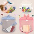 Baby Bathroom Mesh Bag for Bath Toys Bag Kids Basket for Toys Net Cartoon Animal Shapes Waterproof Cloth Sand Toys Beach Storage preview-1