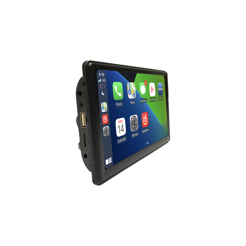 Portable Apple CarPlay Android Auto Monitor AirPlay Phone Mirror Link Display for Car Bus SUV Pickup Taxi Truck Lorry Van MPV preview-5